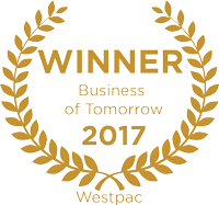 Winner Westpac's 200 Businesses of Tomorrow