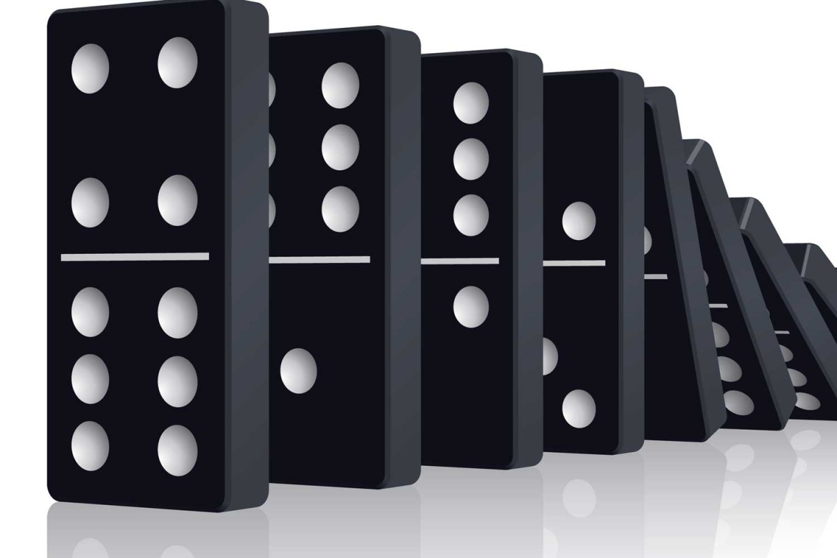 The reality of a Domino Effect in life and business