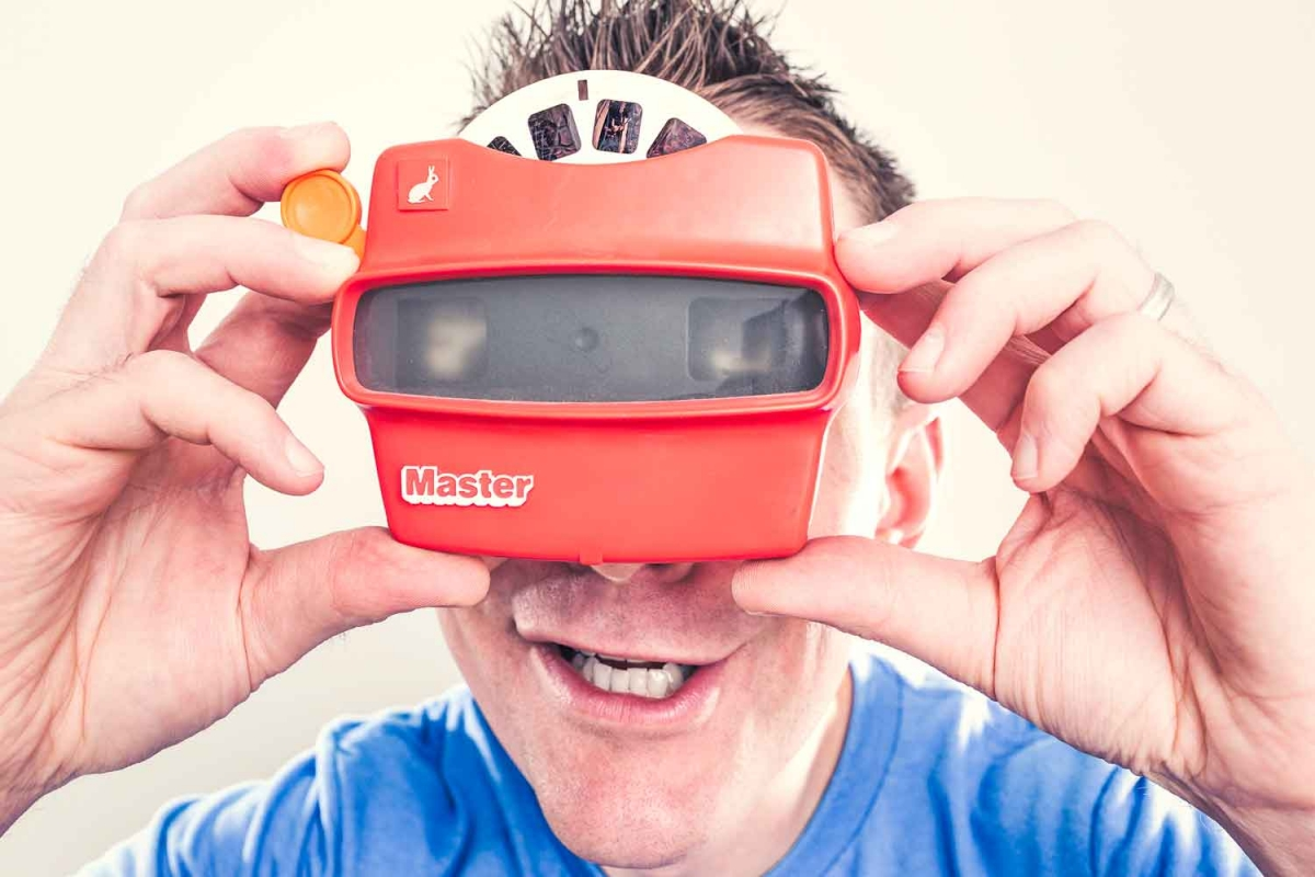 Remember 'The Viewfinder'? A fun way to escape reality for a while