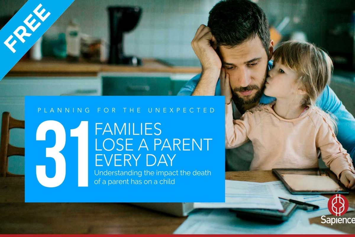 Download our free eGuide to better understand the effect the unexpected death of a parent has on a child